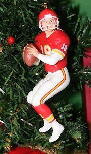 Hallmark Ornament 1995 Joe Montana Kansas City Chiefs MIP