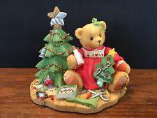 1997 Cherished Teddies Lynn A Handmade Holiday Wish #310735A Christmas Presents