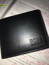 hugo boss mens leather wallet