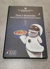 5 euro 2020 ITALIA Pizza e Mozzarella -Serie Cultura Enogastronomica Italiana