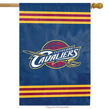 """Cleveland Cavaliers Applique House Flag Embroidered NBA Licensed Flag 28"""" x 44"""""""