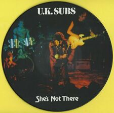 "U.K.SUBS - SHE'S NOT THERE (7"" picture disc) DEMRECBOX09/3"