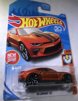 '18 Camaro SS #50 * Orange * 2018 Hot Wheels * New For 2018