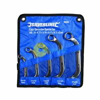 Obstruction Ring Spanner Set 'C' Shaped Half Moon Bend Shape Crv Steel