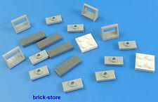 LEGO FERROVIA (60052) piastrelle piastre PARTE DI RICAMBIO / 18 pezzi