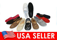 Women's Classic Corchet Slip On Flats Shoes SZ 5-10 Brand New Free Shipping
