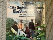 THE CHAMBERS BROTHERS THE TIME HAS COME TODAY VINYL LP VG