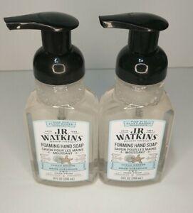 2x JR Watkins Foaming Hand Soap - Ocean Breeze Plant Based 9 fl oz each