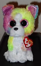 """Ty Beanie Boos - ISLA the 6"""" Claires Exclusive Bulldog / Dog ~ 2017 NEW ~IN HAND"""