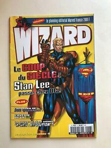 WIZARD Comics Magazine vol 1 #6  2001 French  Cvr 2/2