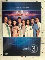 Emergenza Terza Stagione Completa Serie 3 - 4 X DVD Spagnolo Inglese Tedesco 3T
