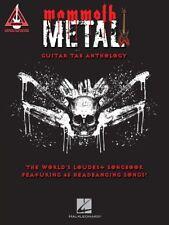 Mammoth Metal Guitar Tab Anthology Sheet Music World's Loudest Songs 000209846