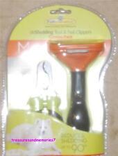 AUTHENTIC FURMINATOR Professional deShedding Tool & Nail Clip LONG HAIR - MEDIUM