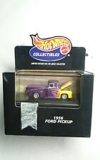 HOT WHEELS 1956 FORD PICKUP DIE CAST REAL RIDERS MINT 1:64