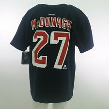 New York Rangers Official Nhl Reebok McDonagh Kids Youth Size T-Shirt New Tags