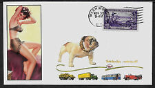 1951 Mack Trucks & Pin Up Girl Featured on Collector's Envelope *A274