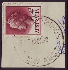 "NSW POSTMARK ""BLACK SPRINGS"" POSTMARK DATED 1958 PO CLOSED 1978 (A7007E)"