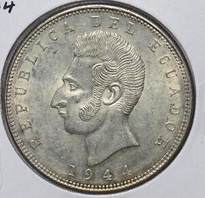 Ecuador 1944 5 Sucres 294640 combine shipping