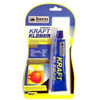 (6,23€/100g) 40g Kontakt Kraft Kleber Extra Stark Wasserfest Holz Metall #004