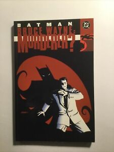 Batman Bruce Wayne Murderer Tpb Softcover Sc Near Mint Nm Dc Comics