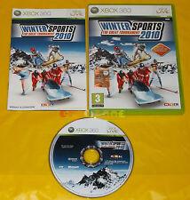 WINTER SPORTS 2010 XBOX 360 Versione Italiana 1ª Edizione Sport ••••• COMPLETO