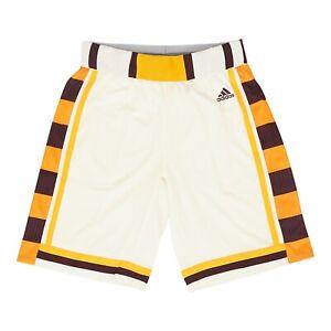 Arizona State Sun Devils NCAA Men's Cream Hardwood Classics Basketball Shorts