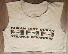 1987 Vintage Rare Duran Duran Concert Shirt