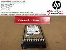 "HP 146GB 6G 15K 2.5"" SAS Dual Port Hard Disk ** 512547-B21/512744-001 **"