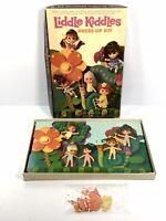 Vintage Colorforms LIDDLE KIDDLES Dress Up Kit Toy #495 Mattel - Almost Complete