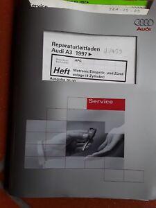 Reparaturleitf. Audi A3 1997, Ausg. 05.00 Motronic Einspritz- u Zündanlage #2459