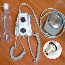 Dental Portable Turbine Unit Air Compressor 3 Way Syringe Handpiece Tube 2 Holes