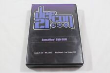 Defcon 21 SyncVue DVD-Rom Conference Video/Audio PC/Mac Software RARE!