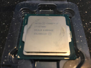 Intel Core i7-6700K Computer Processor (SR2L0)