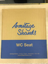 ARMITAGE SHANKS ORION 3 TOILET SEAT, COVER & HINGES IN CHABLIS, S404520