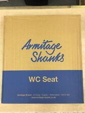 Armitage Shanks Orion 3 sedile del water, coperchio e cerniere in Chablis, S404520