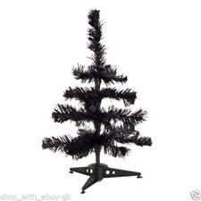Árboles de Navidad de plástico de color principal negro