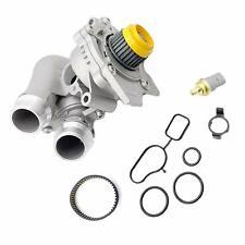 Aluminum Water Pump + Sensor + Belt for Audi A3 A4 TT VW Eos GTI Jetta Passat