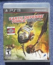 PS3 Playstation 3 - Earth Defense Force Insect Armageddon EDF - CIB Complete