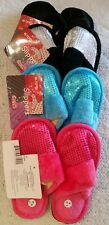 sequin slippers for girls,size 1-2(M),manufacturer caika,made in china