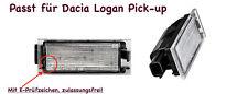 2x TOP LED SMD Kennzeichenbeleuchtung für Dacia Logan Pick-up (N06)