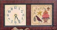 TIMELY AUTUMN-CROSS STITCH SAMPLER CHART-HOMESPUN ELEGANCE