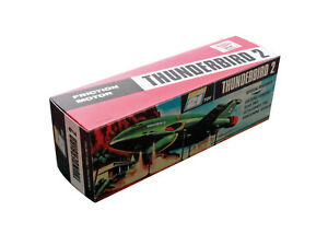 J. Rosenthal JR21 Thunderbird 2 Friction Vehicle Repro Box