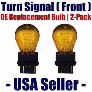 Front Turn Signal/Blinker Light Bulb 2pk - Fits Listed Saturn Vehicles - 5702NAK