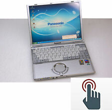 900 Size Notebook Lightweight and Small panasonic CF-T2 Touch 1024x768 40GB HDD