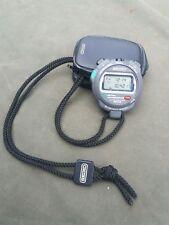 Armée Britannique Seiko S034 Chronomètre Résistant À L'eau Lap/Split Alarme rappel Très bon état