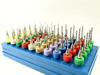 "3.57 to 3.85mm 1//8/"" Shanks cnc R5 10 Piece Carbide Drill Set .1045 to .152/"""