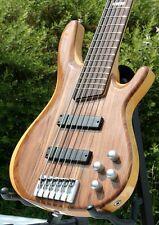 Weller 6-Saiter activamente e-Bass * nogal-Arce sandwich * Abt pu 's * Double-trussrod