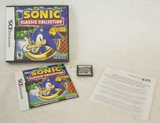Nintendo DS SONIC Classic Collection Sega 4 games in one Hedgehog 2 3 Knuckles