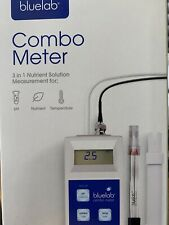 Bluelab Combo Meter pH EC TDS PPM Temp CF -Blue Lab nutrient electrode