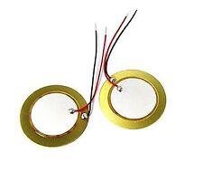 10PCS 35mm Piezo Elements buzzer Sounder Sensor Trigger Drum Disc